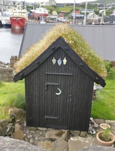 hut for drying food